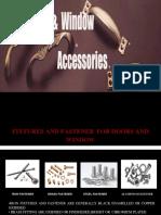 door and windows accessories