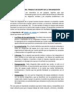 """""""El Trabajo Colaborativo en El Contexto Laboral"""""""