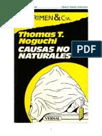 (1988) Causas No Naturales