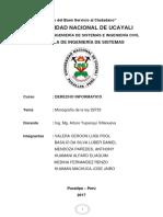 Monografia de la Ley 29733 - Derecho Informatico