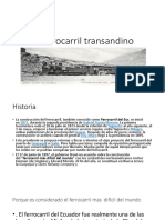 El Ferrocarril Transandino