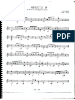 Minueto Bach