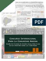 Concurso Comunidad Andina