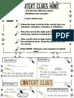 3rd Context Clues Activity