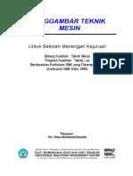Teknik Gambar Produksi Dan Konstruksi Mesin