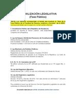 Actualización Legislativa FASE PÚBLICA