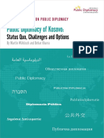 Wahlisch & Xharra (2011) 'Public Diplomacy of Kosovo. Status Quo, Challenges and Options'