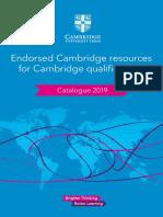 CAIE Catalogue 2019-WEB