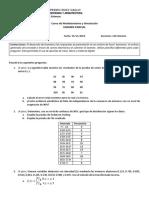 Primer Examen Parcial - MyS