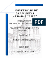 Consulta Delta de Dirac