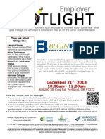 Employer Spotlights December 2018