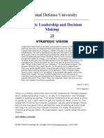 NDU Creating Vision