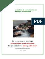 Estándares Básicos Tecnología y Informática