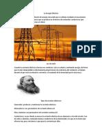 La Energía Eléctrica
