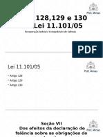 Arts. 128,129 e 130 da Lei 11.101/05