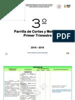 3er Grado Parrilla 2018-2019 Mod