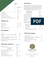 Carta Bambola Restaurante Web
