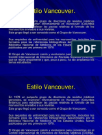 Estilo Vancouver