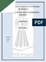 Caratula Fes Aragon