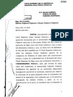 Exp. AV-13-2003 - La Instigacion en El Delito de Usurpacion de Funciones - Caso Fujimori – Participacion Delictiva