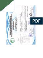 Certificado Ley de Contrataciones