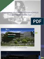 PROGRAMAS INFORMÁTICOS TRANSFERIDOS