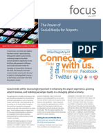 Focus Power of Social Media for Airports