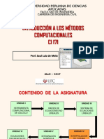 Introduccion Metodos Computacionales 2016 1 (4ta) [722508]