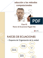 01 Clase 2 - Regula Falsi (Posición Falsa)_2015-2