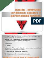 clasificación , estatutos sindicales2