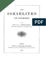 Israelites en Roumanie par Crezzulesco Emmanuel 1879.pdf