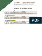 TerraBrasil 2018 Programacao Palestras Detalhada