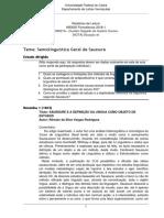 SUE - Formalismo Relatórios de Leitura