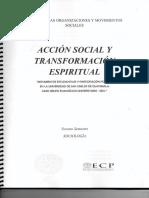 Acción Social y Transformación Espiritual