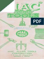 Mac Tools Catalog No 14 1947