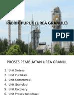 Pabrik Pupuk (Urea Granule)