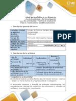 Guía de Actividades y Rúbrica de Evaluación - Paso 3 - Construir El Marco Teórico y Metodológico