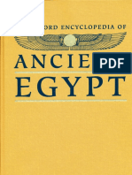 2001OxfEnc - Oxford Encyclopaedia of Ancient Egypt