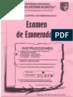 UNASAM EXAMEN DE EXONERADOS 2016 - II.pdf