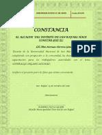 Certificado Para Prf.norman