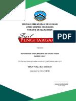 Sijil Ajk Surau 2018