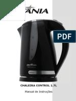 Manual Chaleira Control 1.7 l Britania