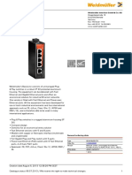 Datasheet Weidmuller Switch