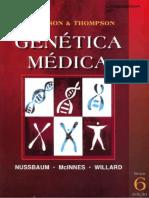 Genética Médica - Thompson & Thompson 6ed.