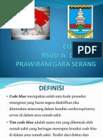 Code Blue Rsdp
