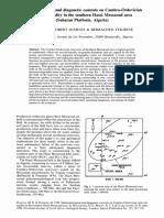 Sedimen Cambro Ordovician Res Quality Messaoud Area Saharan Platform