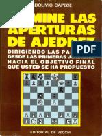 Domine las aperturas de ajedrez - Adolivio Capece.pdf
