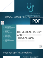 THE MEDICAL HISTORY AND PHYSICAL EXAM.pptx