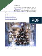 Chỉ Dẫn Bí Quyết Lắp Ráp Cây Thông Noel
