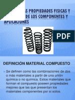 Explicar Las Propiedades Fisicas y Mecanicas de Los Materiales compuestos.pptx